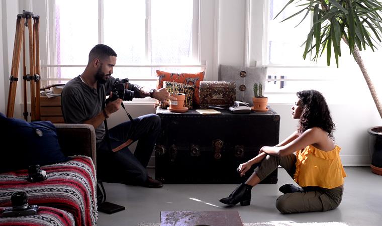 """Directing Luwam"" - Los Angeles, Behind The Scenes, 2015"