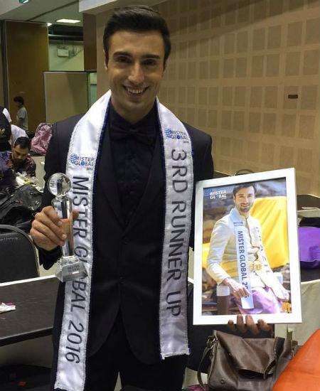 Já virou tradição ver o Brasil entre os melhores nos grandes concursos mundiais e Giba não foi exceção: quarto lugar no Mister Global!