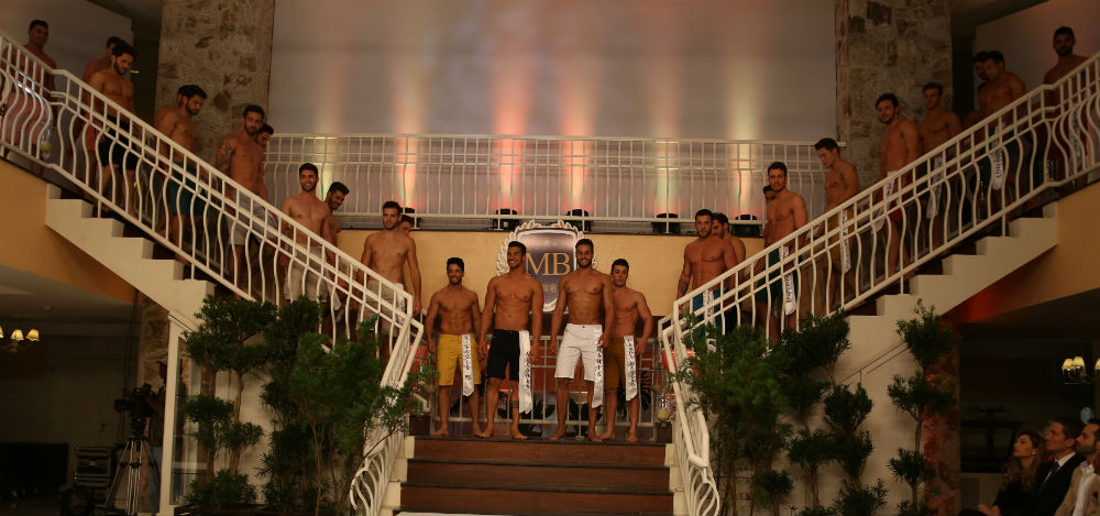 (Candidatos a Mister Brasil 2016, foto Leonardo Rodrigues)