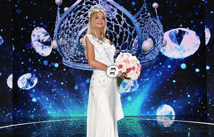 Polina Popova foi eleita Miss Rússia 2017 e representará o seu país no Miss World.