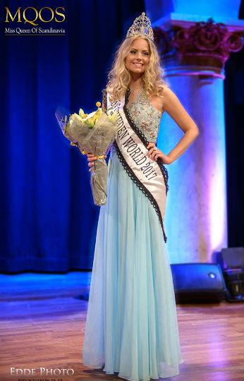 A Suécia já tem representante no Miss World 2017.