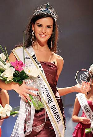 Na sua terceira tentativa, a mineira Tamara Almeida foi eleita Miss Mundo Brasil 2008.