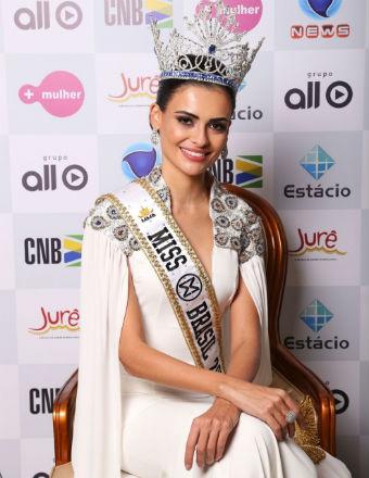 Beatrice Fontoura, a terceira goiana eleita Miss Mundo Brasil (foto Leonardo Rodrigues).