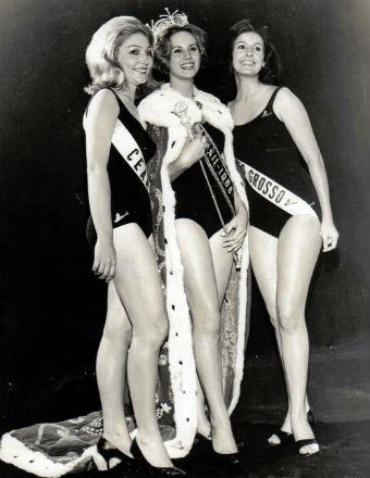 Guanabara venceu e foi ao Miss Universo. Mato Grosso (dir) foi vice e foi a Miss Mundo. Foi finalista em Londres.