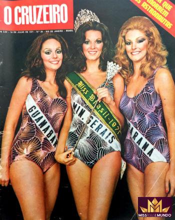 No Brasil, a carioca Lucia Petterle (e) perdeu para a mineira (c), porém, meses depois conquistou o Mundo!