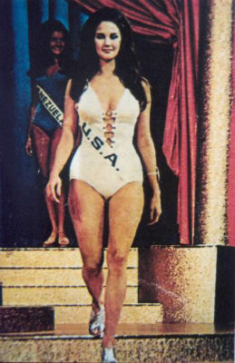 Miss EUA, Lynda Carter: Top 15 no Miss Mundo e destinada ao sucesso!