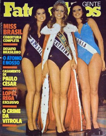 Top 3 de 1975: Brasília (vice), SC (Universo) e BA (Mundo).