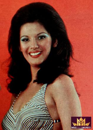 Adelaide de Brasília: a Miss Brasil Mundo 1976.
