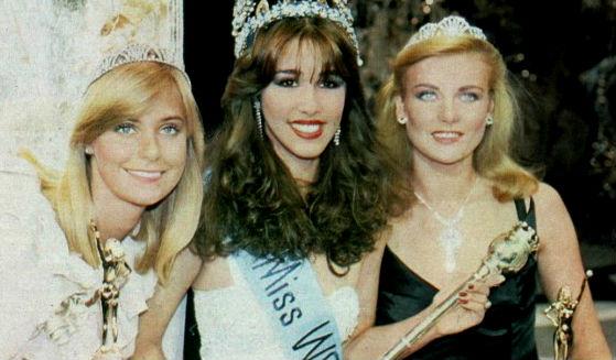 Finlândia (2), República Dominicana (Miss Mundo 1982) e Reino Unido (3): o Top 3 em Londres.