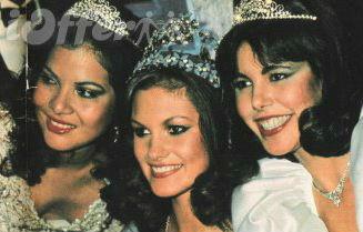 Colômbia (2), Reino Unido (Miss Mundo) e Cátia Pedrosa do Brasil (3).