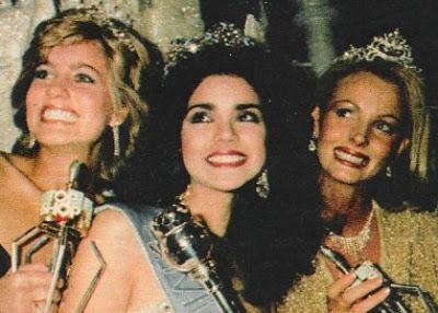 Miss Mundo 1984: Canadá (2), Venezuela (1) e Austrália (3).