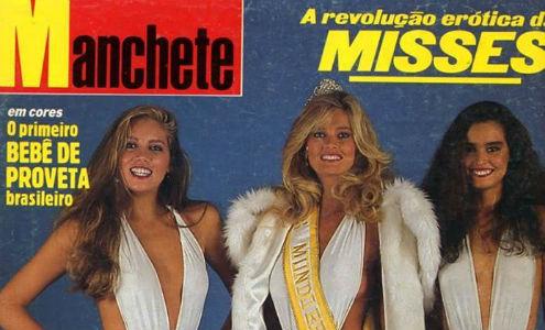 Top 3 histórico: Márcia do RJ (3), Adriana do RS (Miss Mundo Brasil) e Suzy de PE (2).