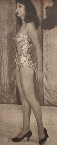 Zaida Saldanha, Miss Estado do Rio, poderia ter ido ao Miss World.