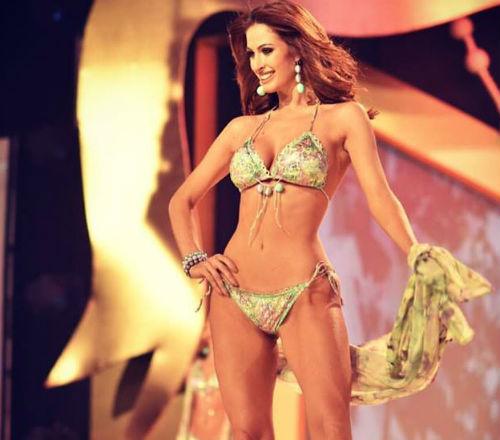 Despedida em grande estilo: a gaúcha Laís Berté disse adeus aos concursos de beleza com um terceiro lugar no Reina Hispanoamericana, na Bolívia.