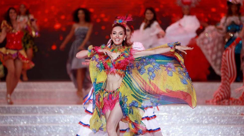"Vilela abriu o quadro ""Dances of the World"" no Miss Mundo 2017. Foi Top 40, mas merecia muito mais: deu show!"