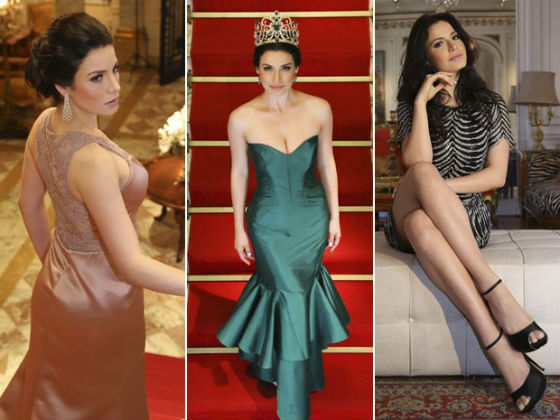 Julia Gama foi Miss Brasil Mundo e finalista do Miss Mundo em 2014. Aqui ela aparece em cliques de Leonardo Rodrigues.