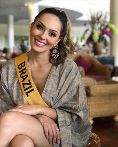 Gabrielle Vilela, Miss Grand Brasil 2018.