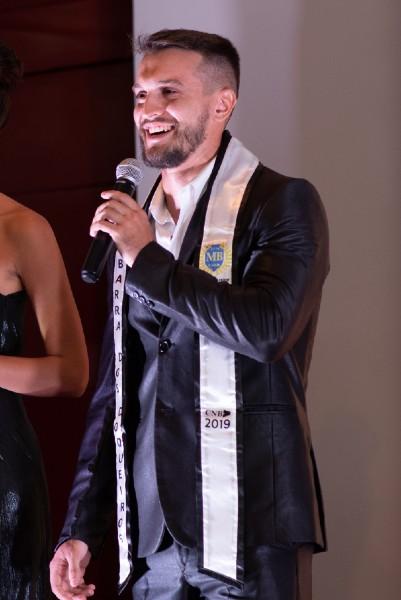 Vice-Mister Sergipe CNB 2019 é o representante de Barra dos Coqueiros.