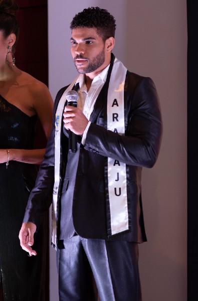 O Mister Aracaju CNB foi o terceiro colocado no concurso estadual.