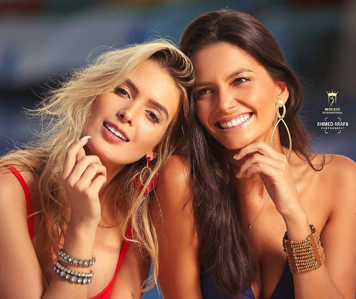 Toda a beleza da dupla brasileira formada por Tayná (Brasil) e Karine (Fernando de Noronha), capturada pelas lentes do fotógrafo egípcio Ahmed Arafa.
