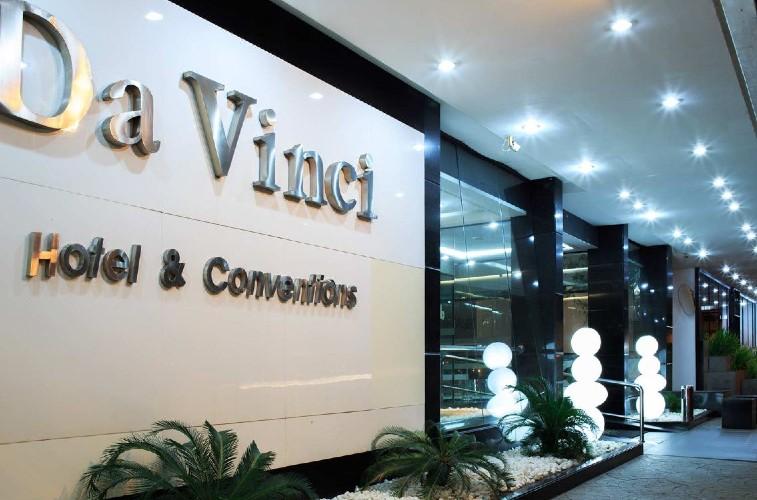 Da Vinci Hotel e Conventions, onde na noite de hoje será eleito o mais belo amazonense de 2019.