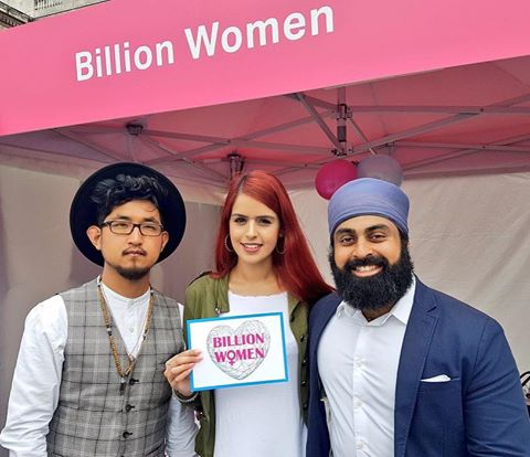 Behind the Netra  supported BILLION WOMEN at  ‪#‎EidLDN‬ . They are an incredible charity focused on supporting women's education, safety and dignity.   http://www.billionwomen.org.uk/