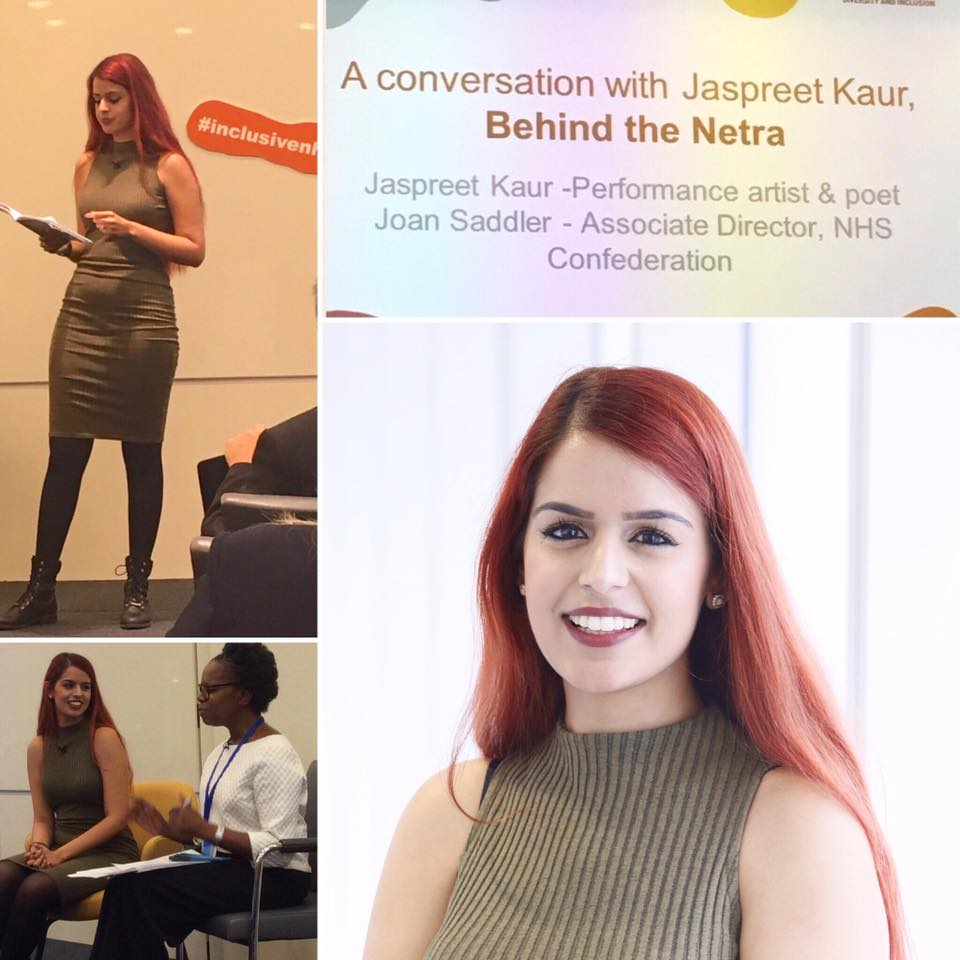 A huge thank you to the NHS Confederation for having me at their Inclusive Revolution Conference this year. I was interviewed by Joan Saddler, the Associate Director of the NHS Confederation for NHS Employers. It was wonderful sharing my journey and my poetry with you all.