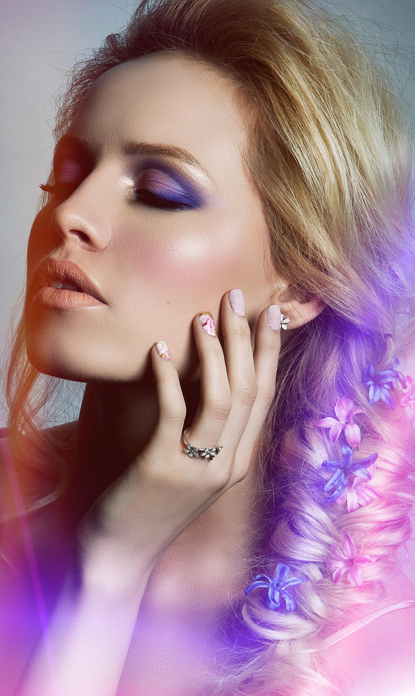 Fotograf: Tiberiu Arsene; Makeup: Irina Mihaita; Hairstyle: Roxana Stefan; Nails: Beauty District; Model: Andreea Cohut;