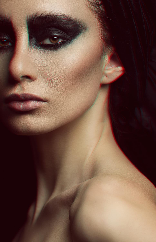 Fotograf: Tiberiu Arsene; Makeup: Marilena Stoian; Model: Elena Prodan