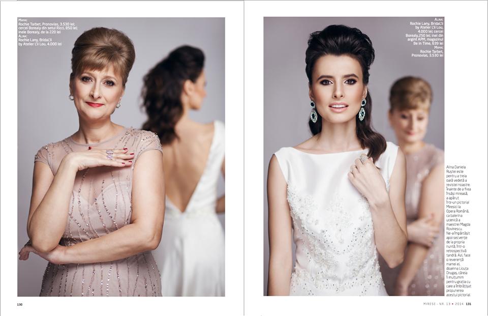 Foto: Tiberiu Arsene; Makeup: Irina Mihaita; Hairstyle: Sorin Stratulat; Styling: Lavinia Sima; Nails: Georgiana Mosor;