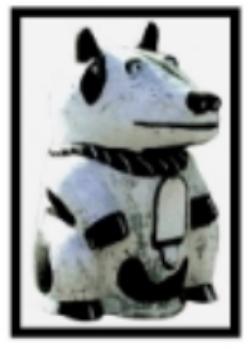 Lucky Dog Mail-Sm, Framd.JPG