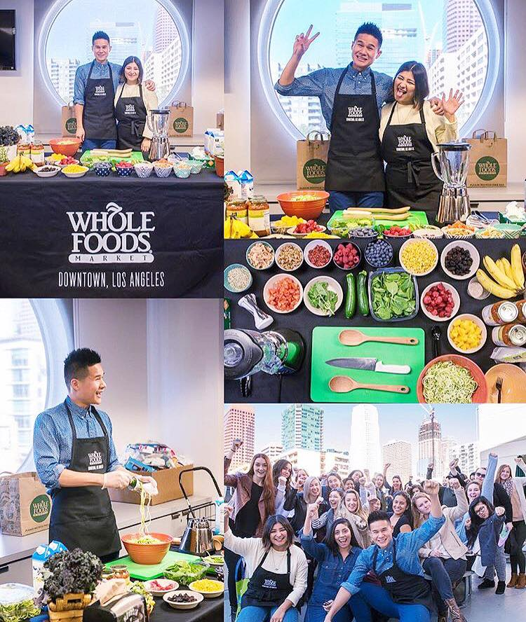 FIDM Healthy Eating Student Presentation with Whole Foods DTLA