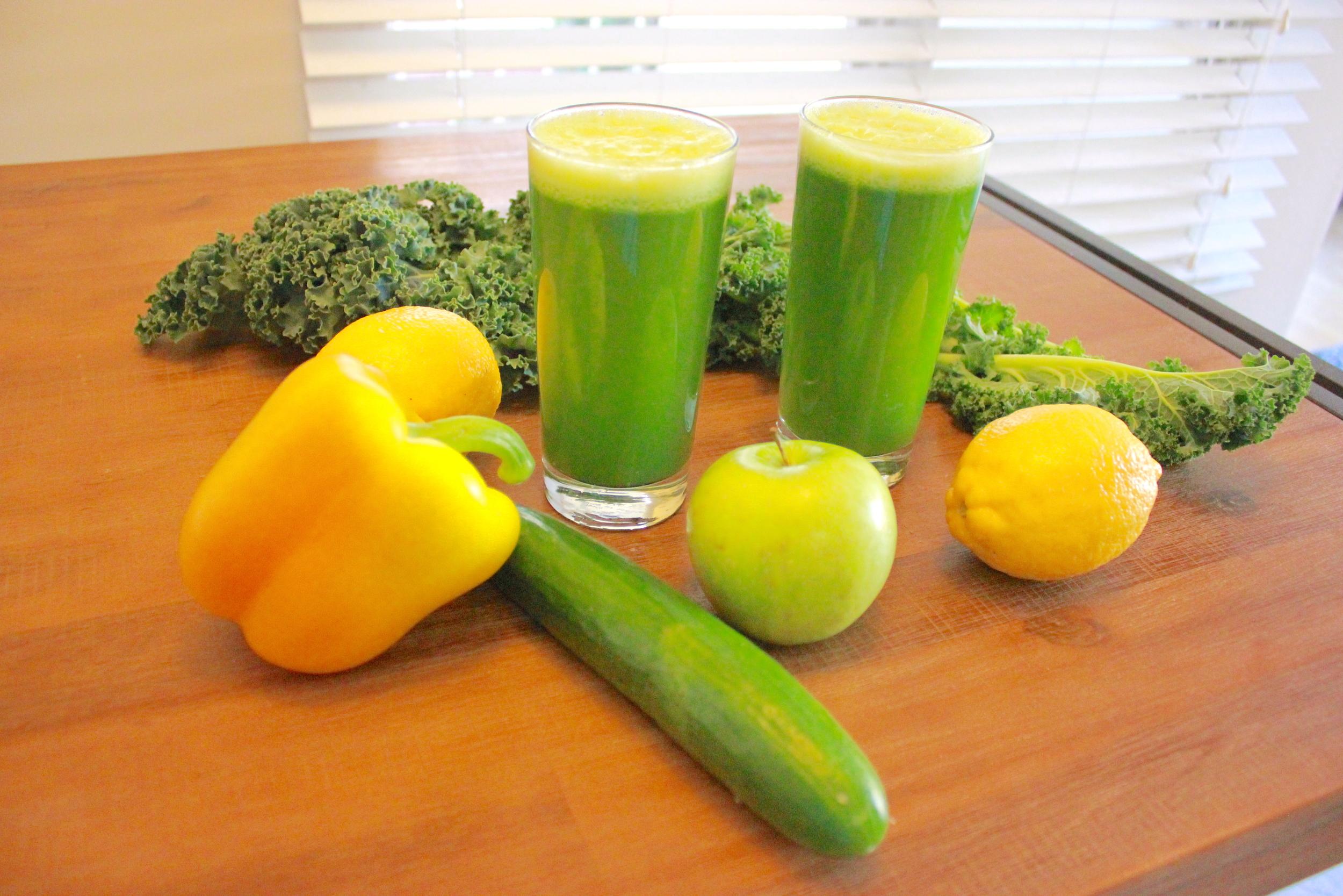 Green Mint Detox Juice