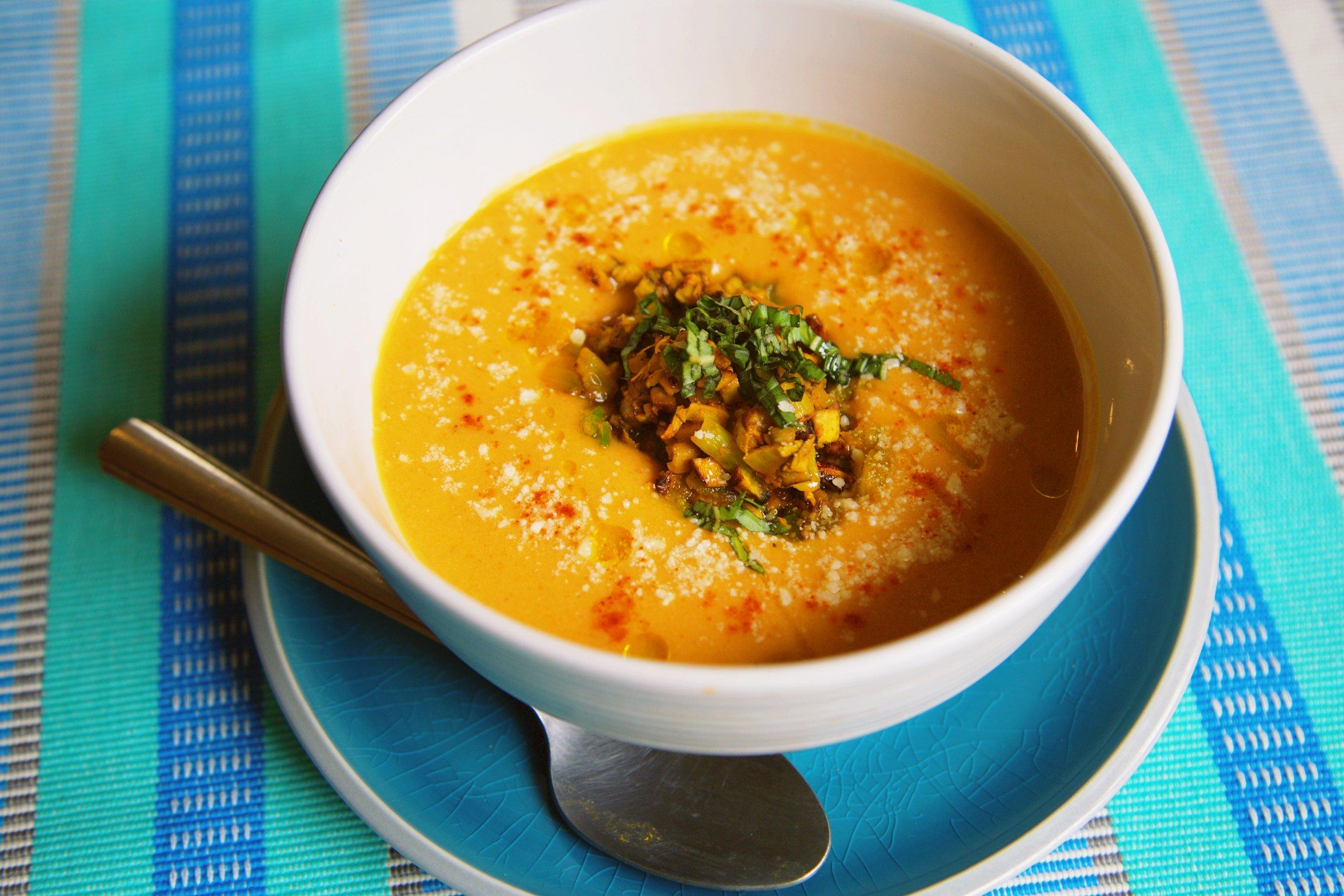 Butternut Squash Soup Recipe Vegan