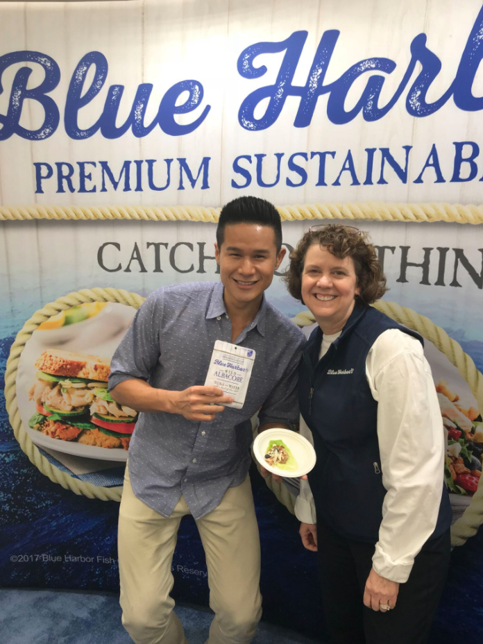 Blue Harbor Fish Co Chef Charles Chen & Dietitian Laura Ali