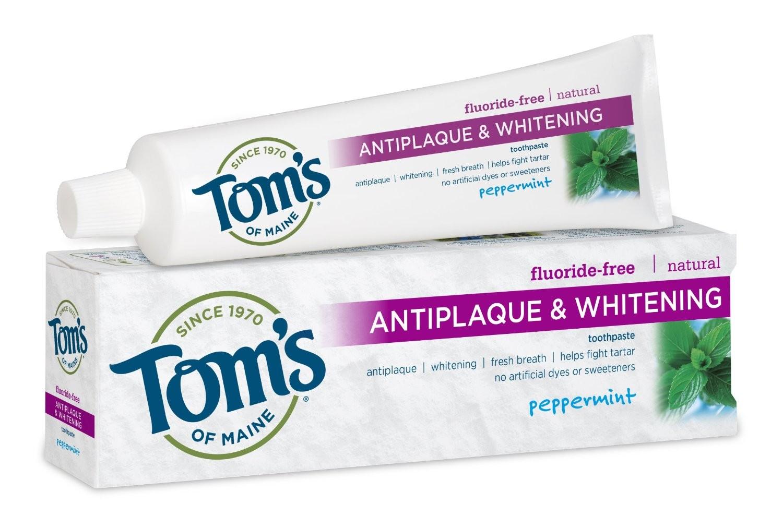 flouride free tooth paste