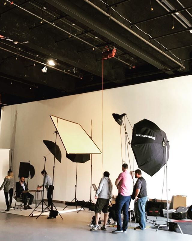 Studio shoot with @amp_agency today! Combining strobes with natural light from the studio door. Can't wait to see the final photos! . . . . . . . . . . . . . #studio16 #studio #studiophotography #photography #commercial #advertising #creativity