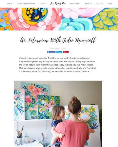 Artist Meets Mother    feature