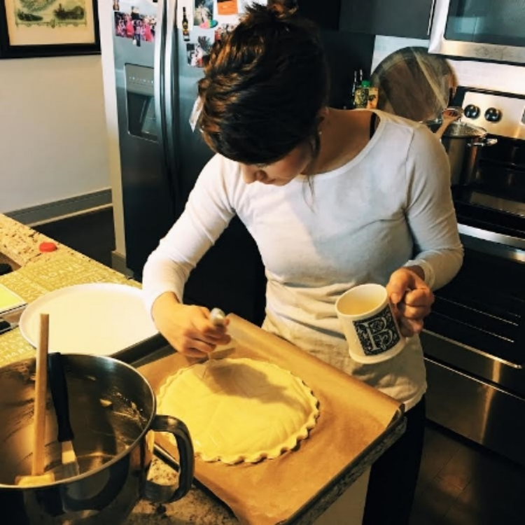 The Baker in action.