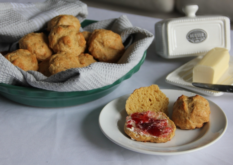 Irish Soda Bread Scones... best served with clotted cream, butter, and jam... Happy Saint Patricks's Day!