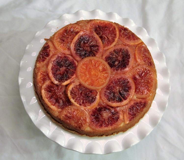 Blood Orange Almond Cake - SUCCESS!!