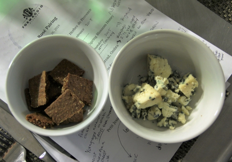 Chocolate Cake and Blue Cheese