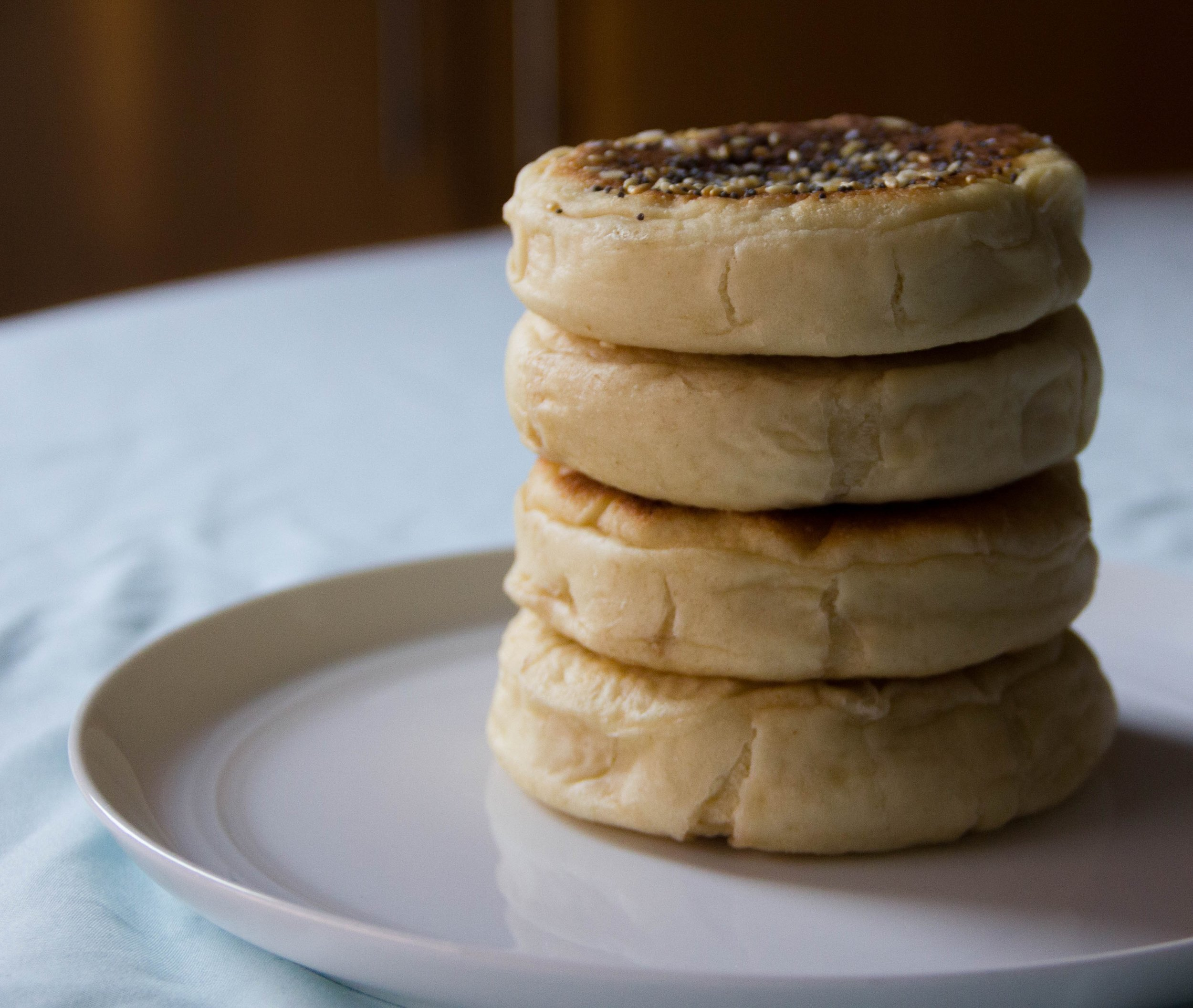 Just a stack of English Muffins!