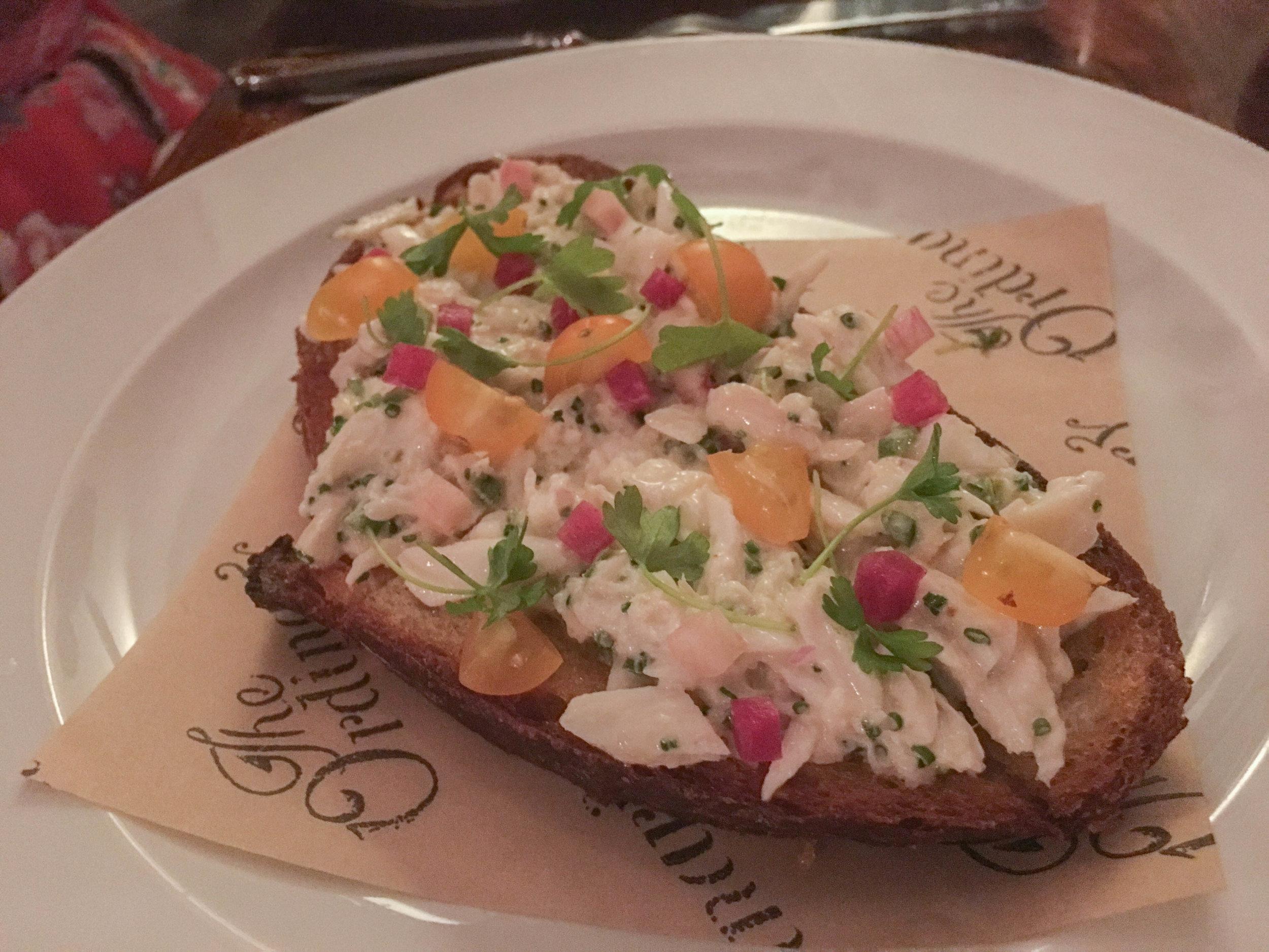 Charleston The Ordinary Crab Toast.jpg