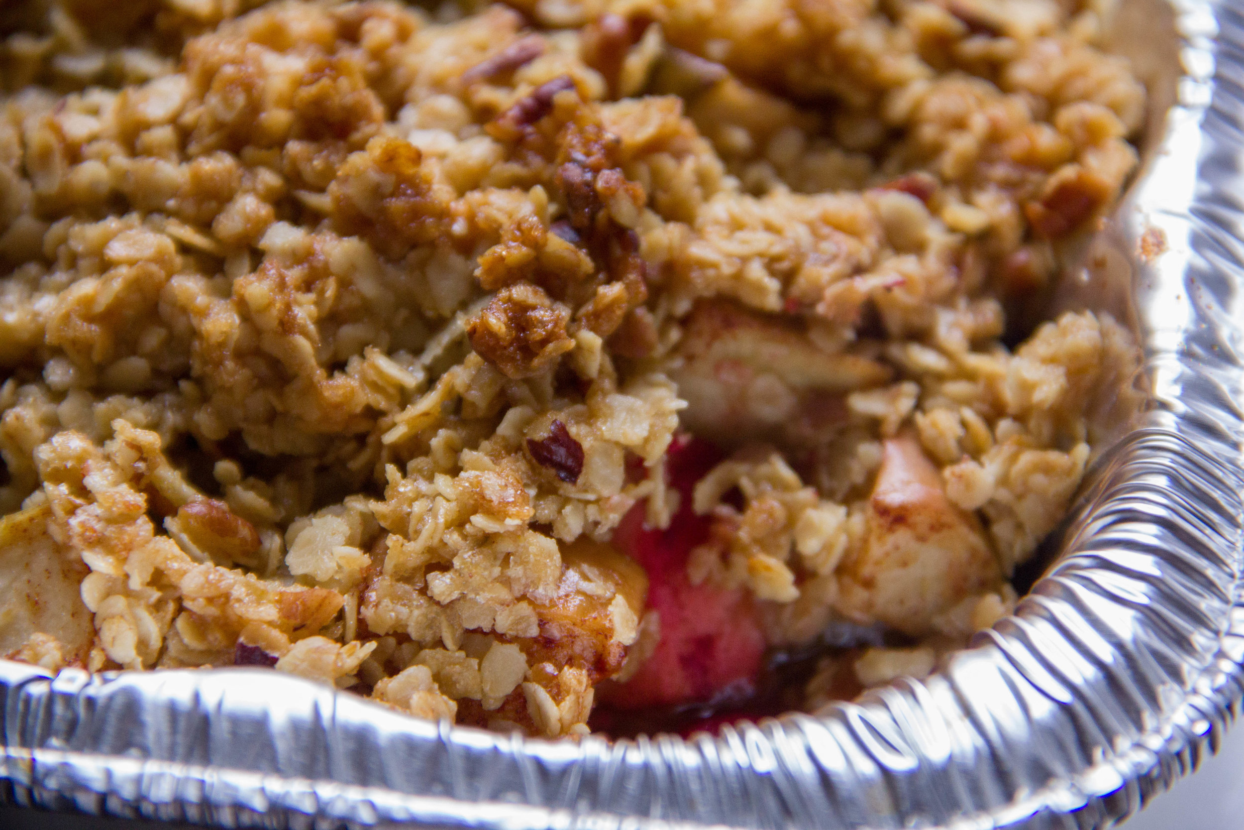 New England Fruit Crumble