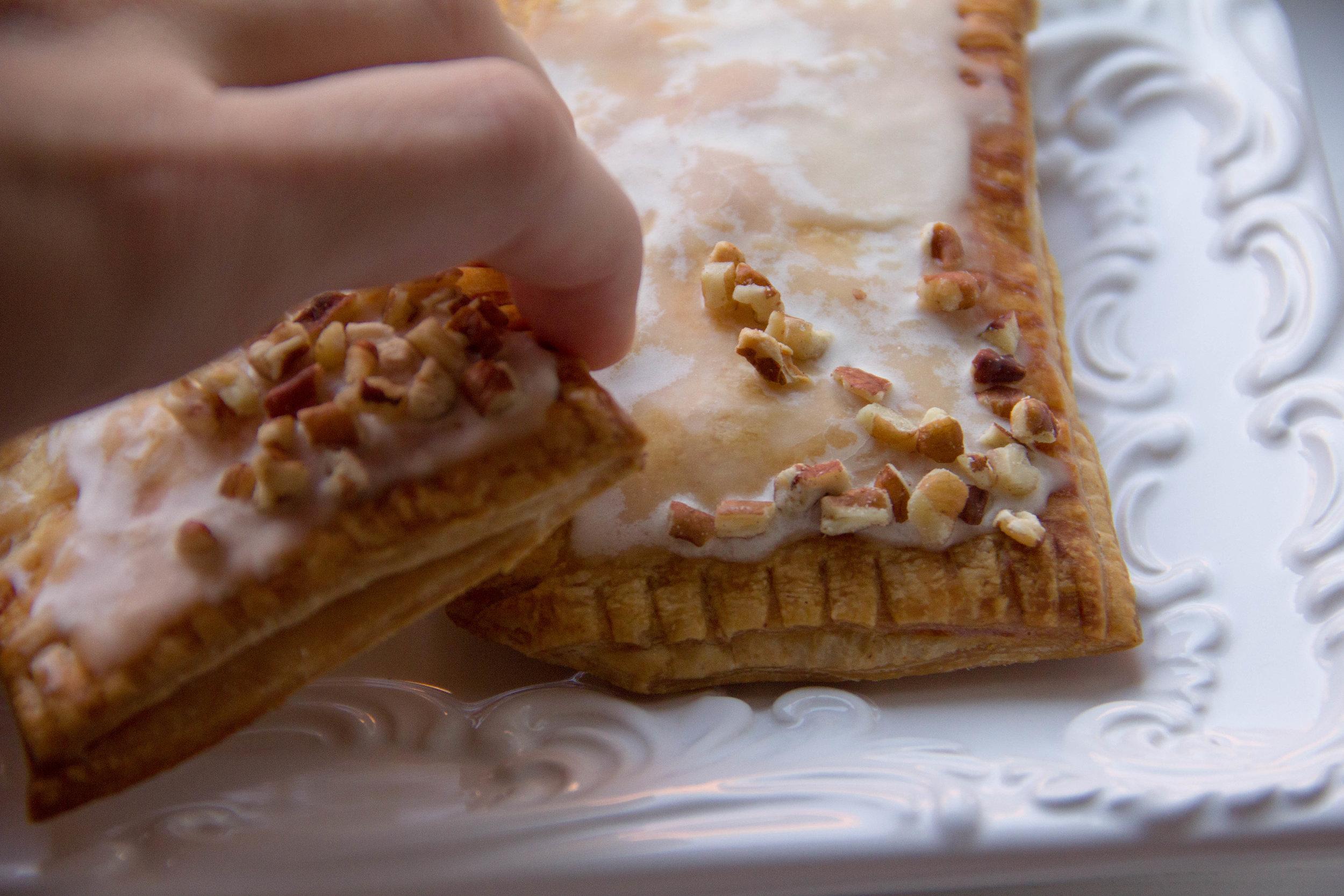 Pecan Pumpkin Pie Pop Tarts with Maple Glaze Recipe