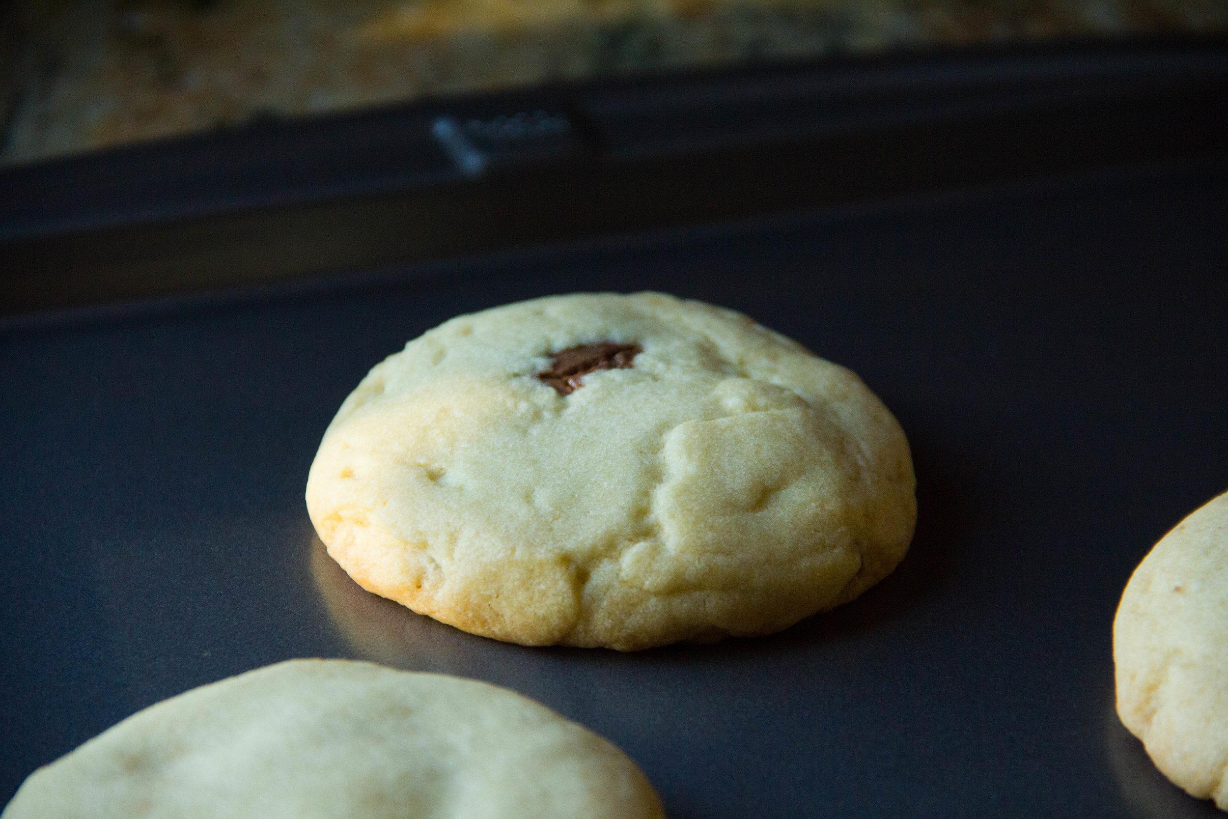 Nutella Stuffed Cookie