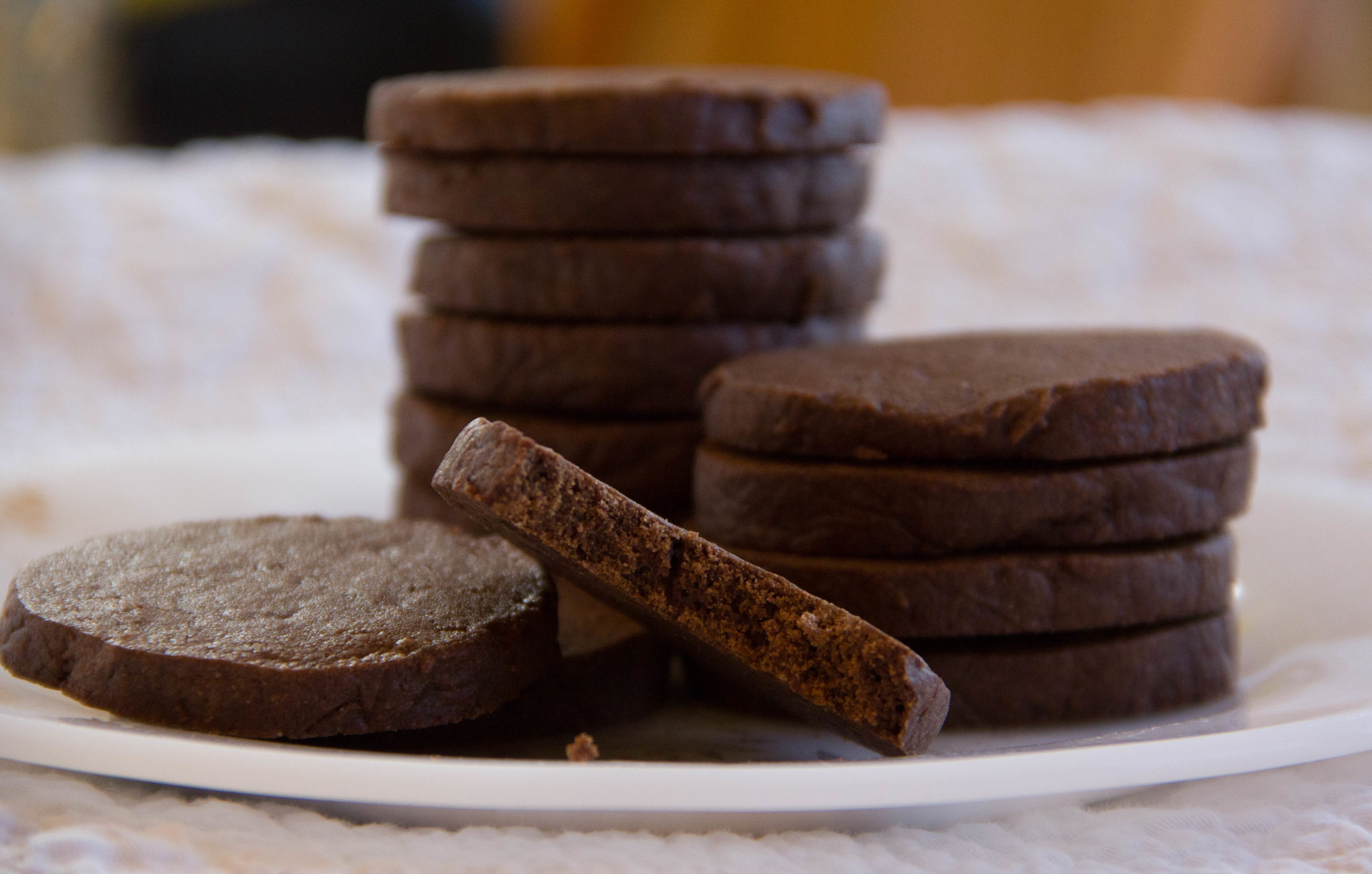 Chocolate Mint Wafer Cookie Recipe
