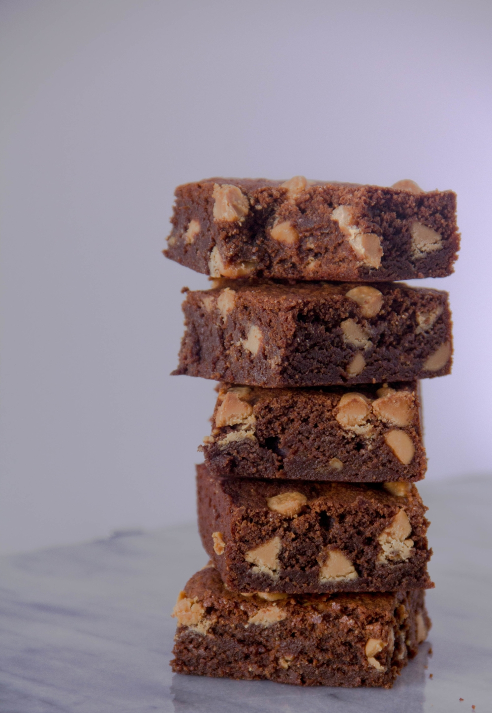 Molasses Peanut Butter Brownies... salty, sweet, chewy, and soft!