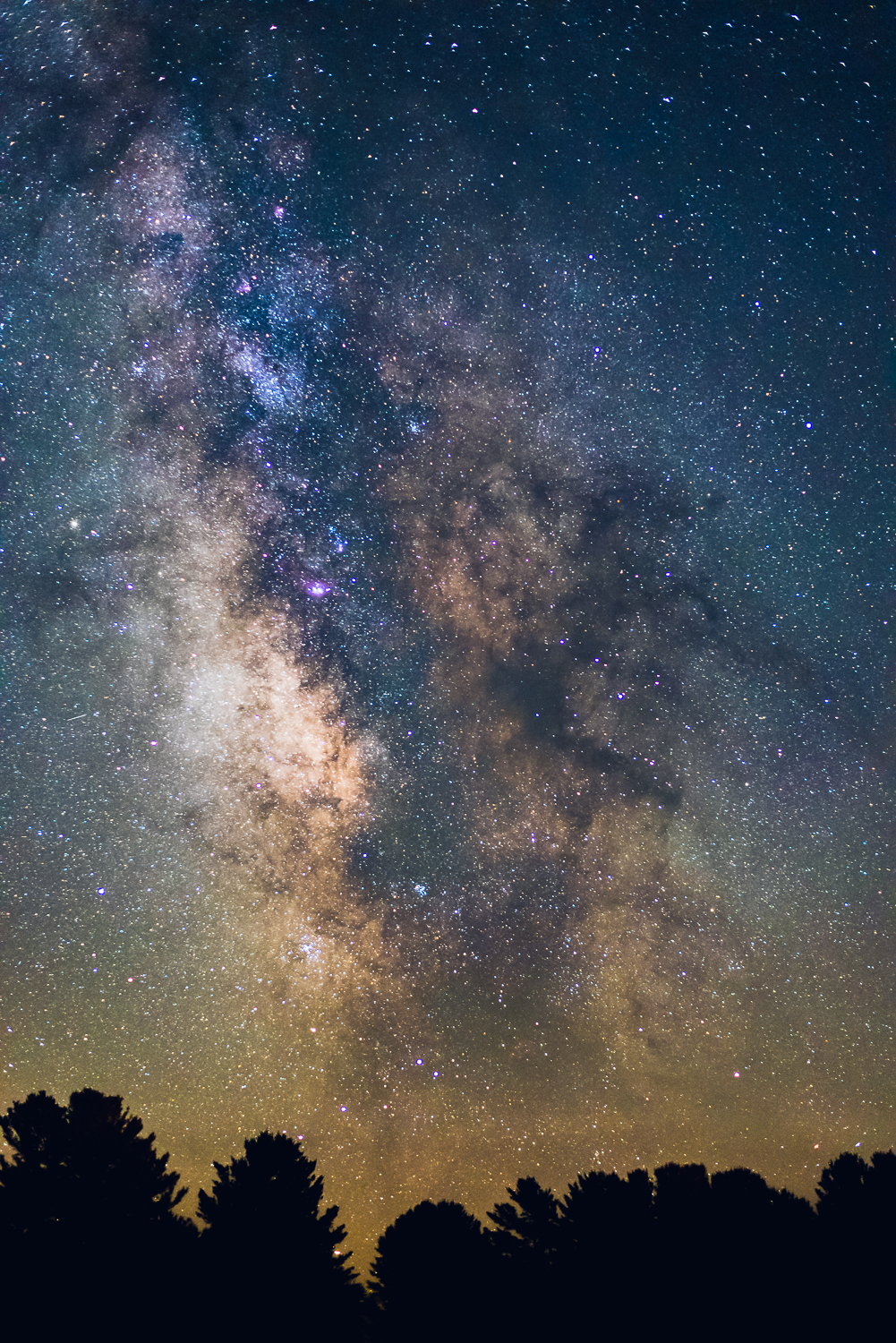 Milky Way Close-Up